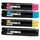 XEROX 6700 Laser Toner Cartridge Set Black Cyan Yellow Magenta High Yield