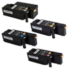 XEROX 6022 Laser Toner Cartridge Set Black Cyan Magenta Yellow